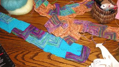 June scarves