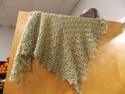 Crochetshawl