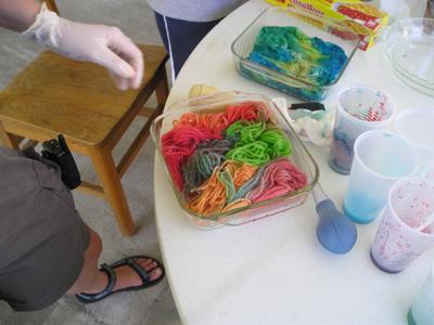 Dyeing with Koolaid