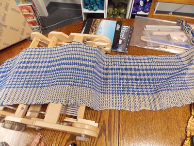 Mary's weaving