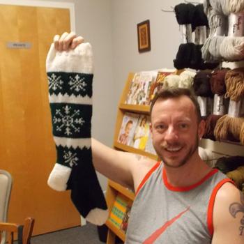 Wayne's stocking