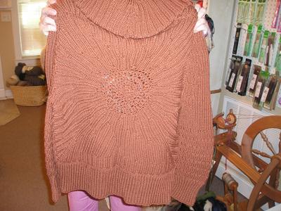Laura's sweater