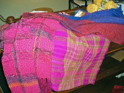 Martha has been weaving