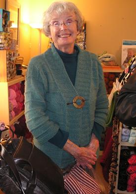Nancy' New Sweater