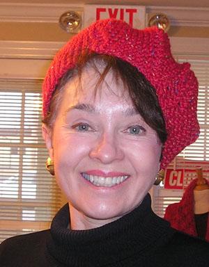 Pat's urchin hat