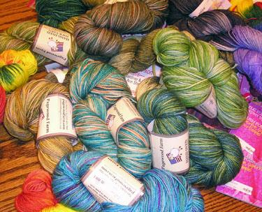 Pagewood Farms Cashmere/Merino Sock yarn