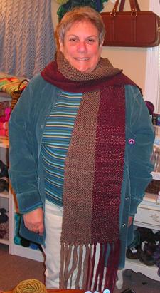 Barb's pretty scarf