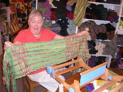 Martha's weaving